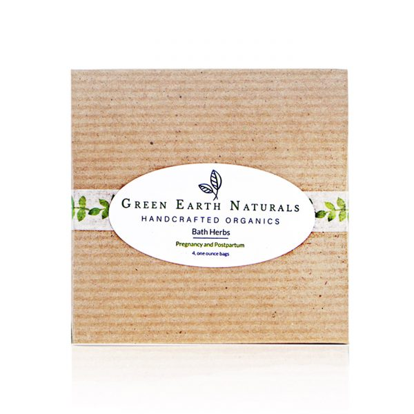 Green Earth Naturals Postpartum Bath Herbs