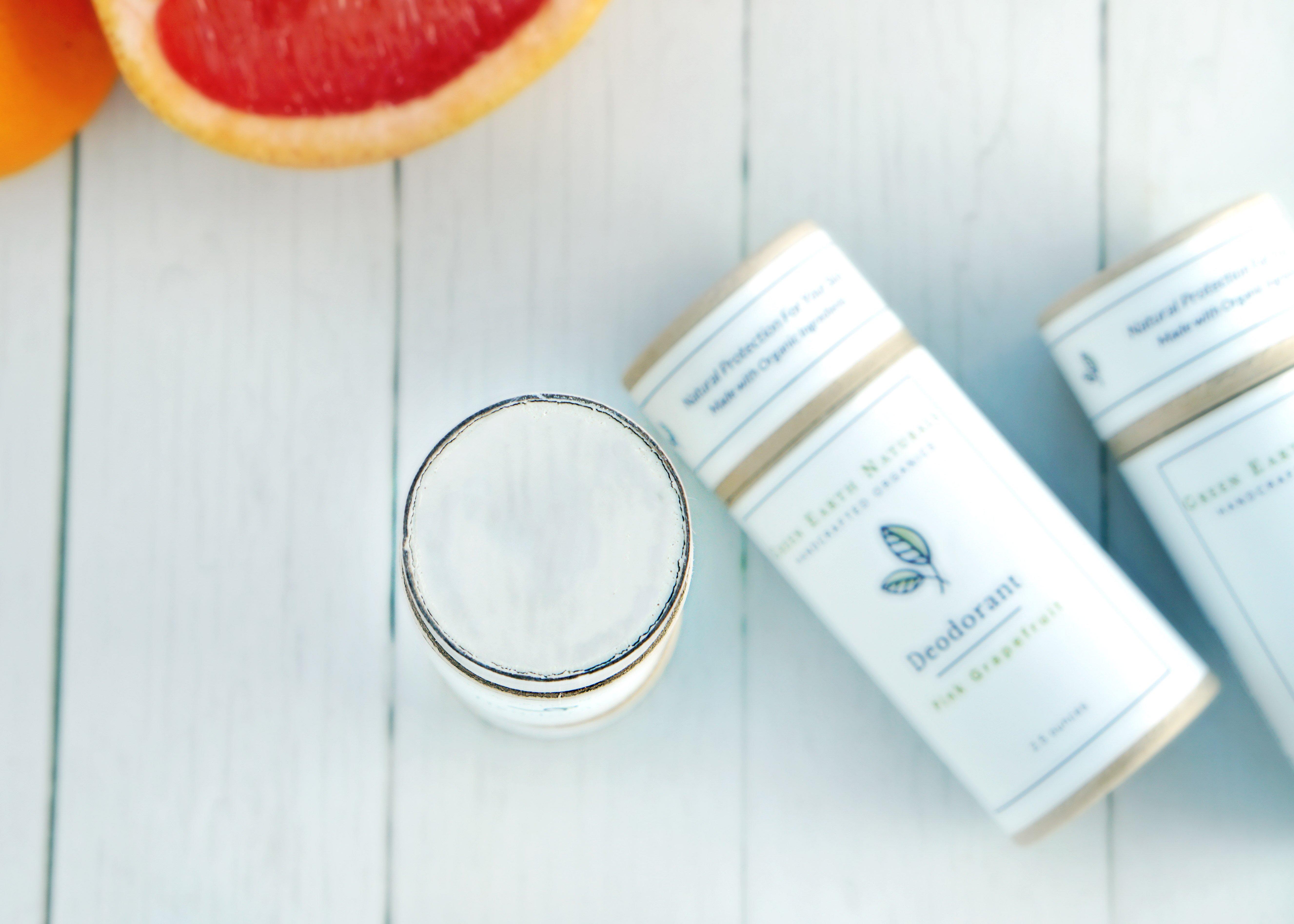 Pink Grapefruit Natural Deodorant