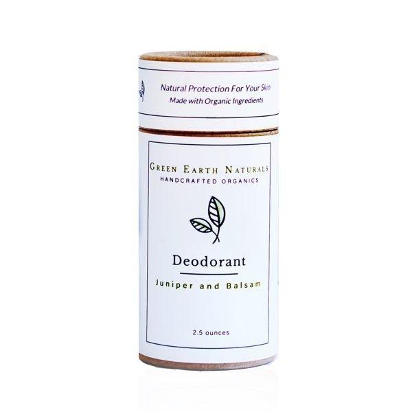 Juniper and Balsam Natural Deodorant