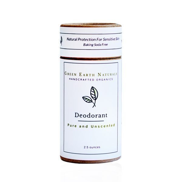 Pure and Unscented Natural Deodorant