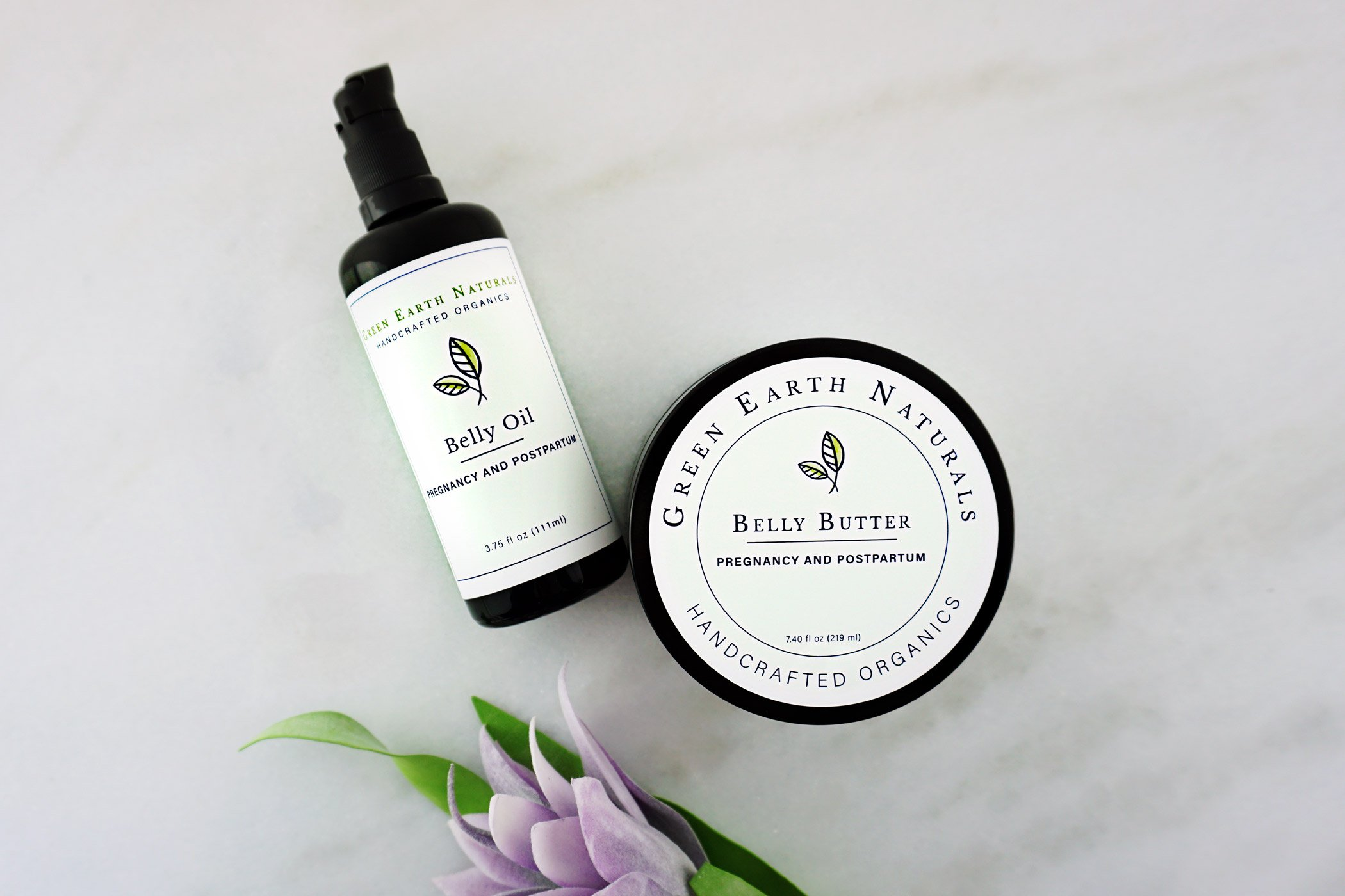 Belly Oil and Belly Butter