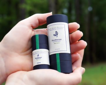 Natural Zero Waste Deodorant in Spruce