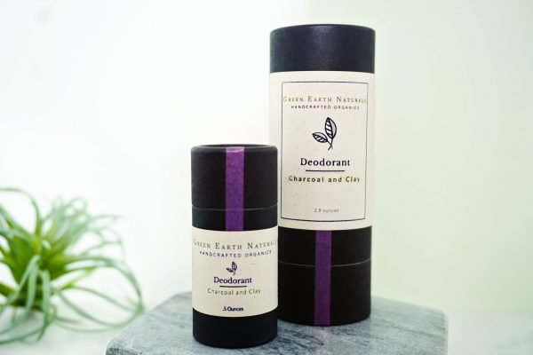 Natural Zero Waste Deodorant Detox with Charcoal and Clay