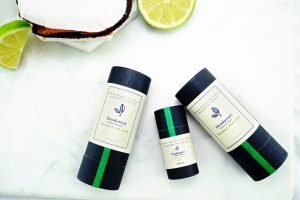 Natural Zero Waste Deodorant Coconut and Lime