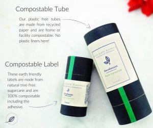 Rose Geranium Zero Waste Natural Deodorant