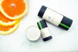 Pink Grapefruit Zero Waste Natural Deodorant